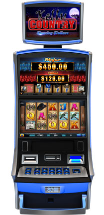 Kelly Country Dancing Dollars Gaming Machine