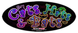 Cats, Hats & Bats game logo