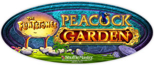 Flinstones Peacock Garden game logo