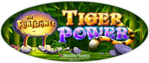 Flinstones Tiger Power game logo