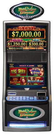 MultiDeluxe Grand Gaming Machine