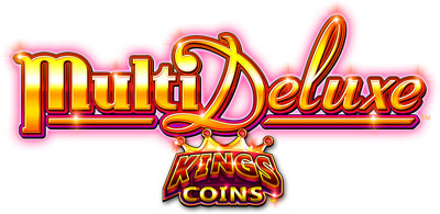 MultiDeluxe Kings Coins game logo