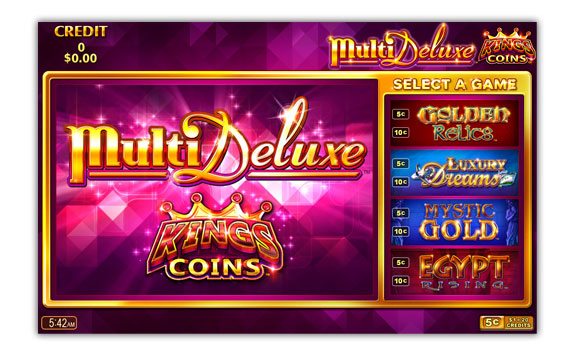 MultiDeluxe Kings Coins game screen