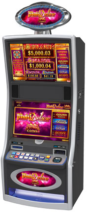 MultiDeluxe Kings Coins Gaming Machine