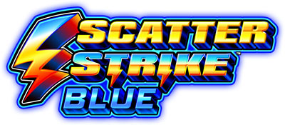 Scatter Strike Blue game logo