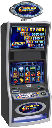 Scatter Strike Blue Gaming Machine
