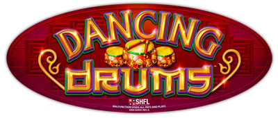 Dancing Drums game logo