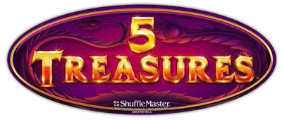 5 Treasures game logo