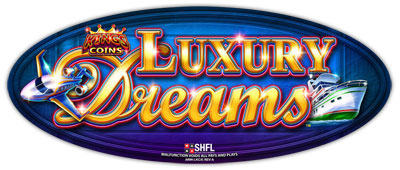 Luxury Dreams game logo