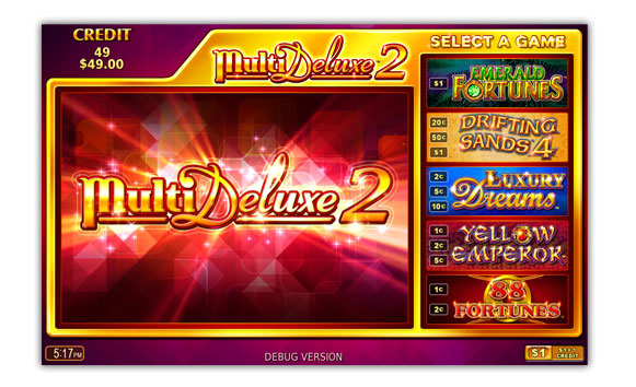 Multi Deluxe 2 game screen