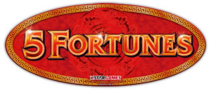 5 Fortunes game logo